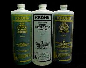 Silver, Nickel And Copper Plating Solutions - Krohn